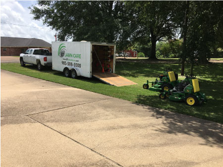 ET Lawn Care Setup in Bullard TX Area