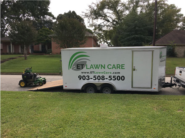We are doing lawn service in Bullard TX.